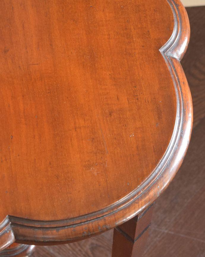 j-1813-f アンティークオケージョナルテーブルの縁