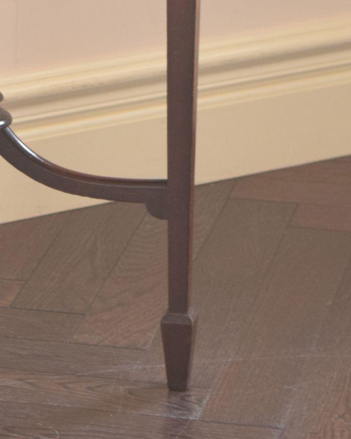 j-1813-f アンティークオケージョナルテーブルの脚