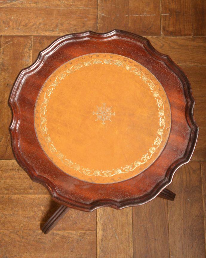 j-1832-f アンティークワインテーブルの天板