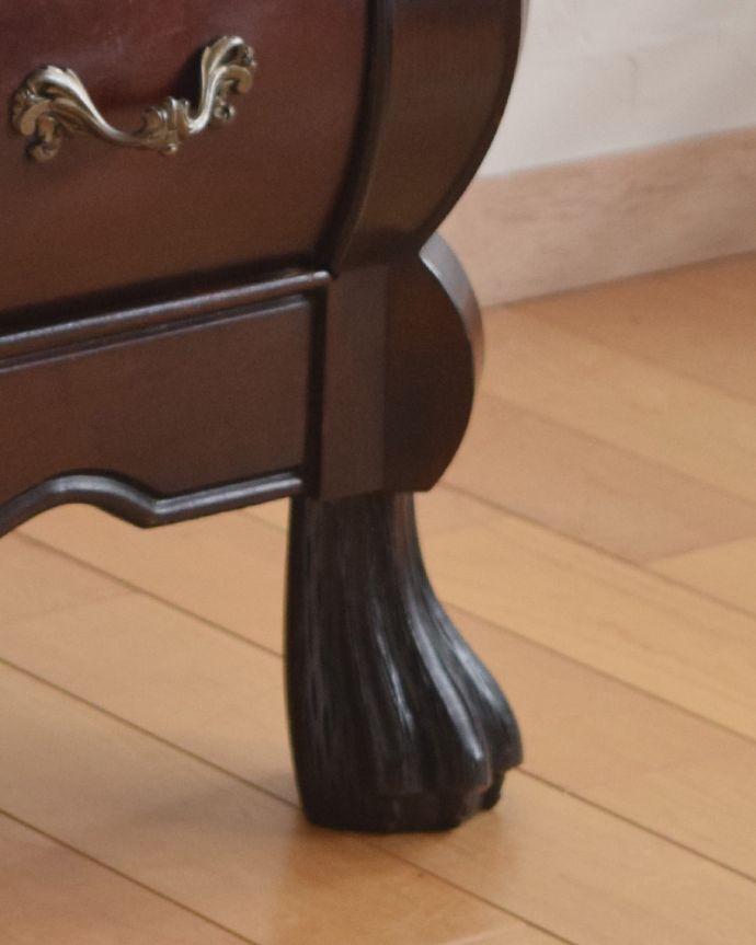 j-1846-f アンティークチェスト(コモード)の脚