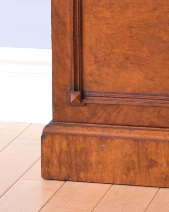 j-1852-f アンティークナイトテーブル(ベッドサイドキャビネット)の脚
