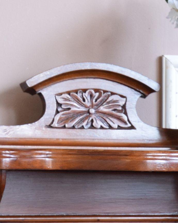 j-1858-f アンティークコールボックスのトップ