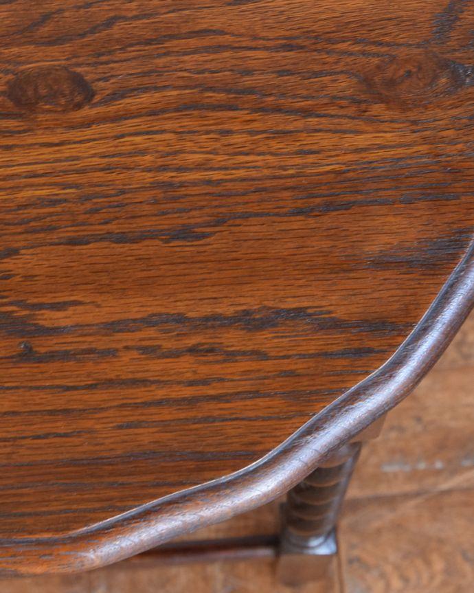 j-1859-f アンティークオケージョナルテーブルの縁