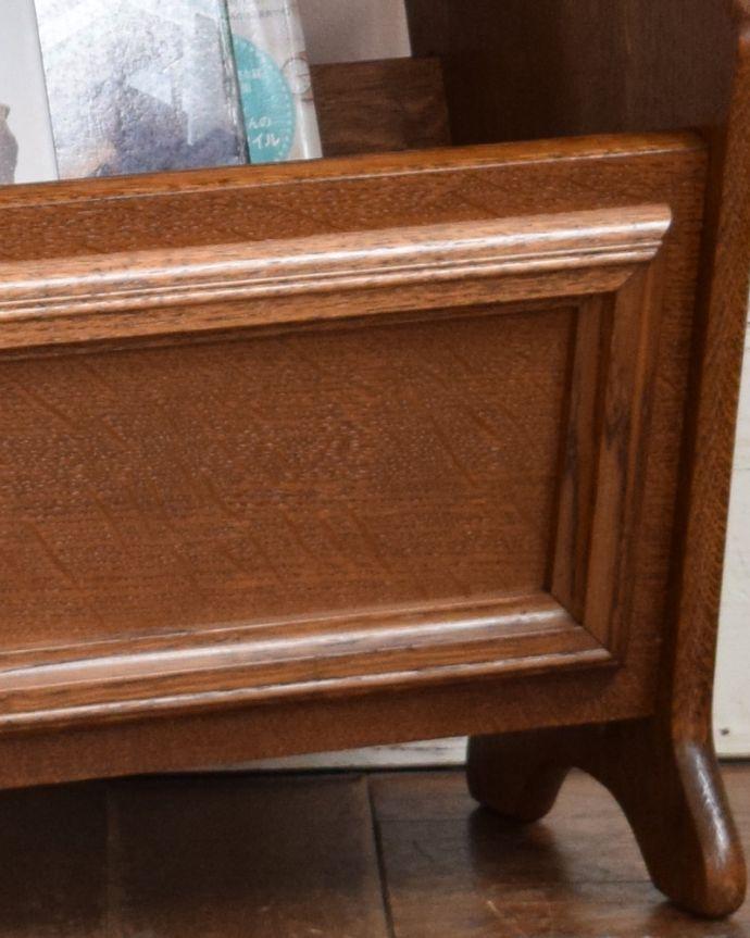 j-1862-f アンティークマガジンラックの装飾