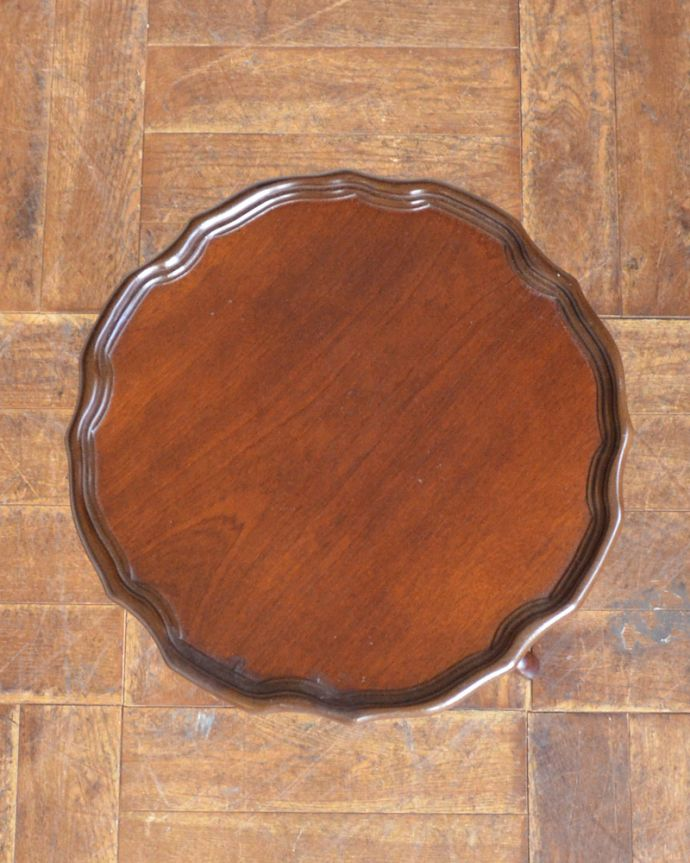 j-1870-f アンティークワインテーブルの天板
