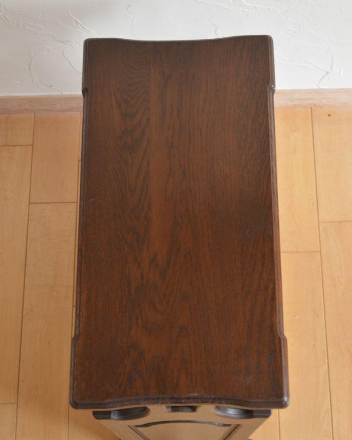 j-1889-f アンティークマガジンラックの天板