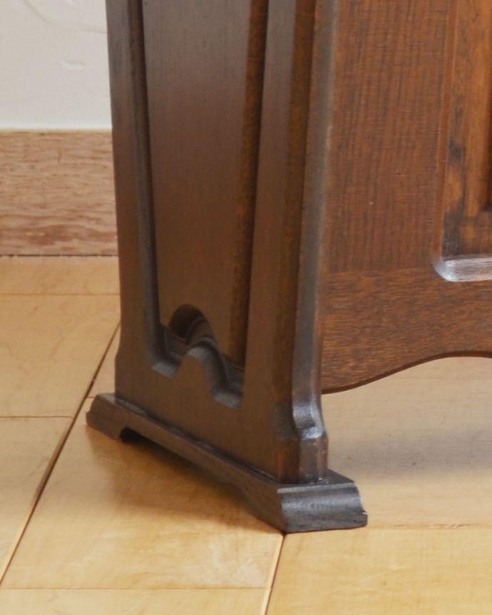 j-1889-f アンティークマガジンラック(コミック収納)の脚