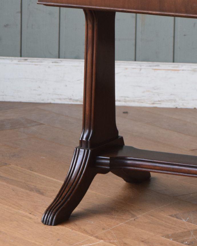 j-1897-f アンティークコーヒーテーブルの脚
