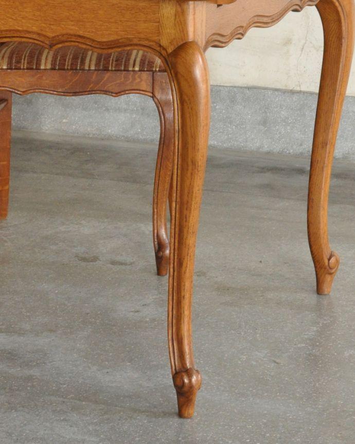 j-1898-f アンティークドローリーフテーブルの脚