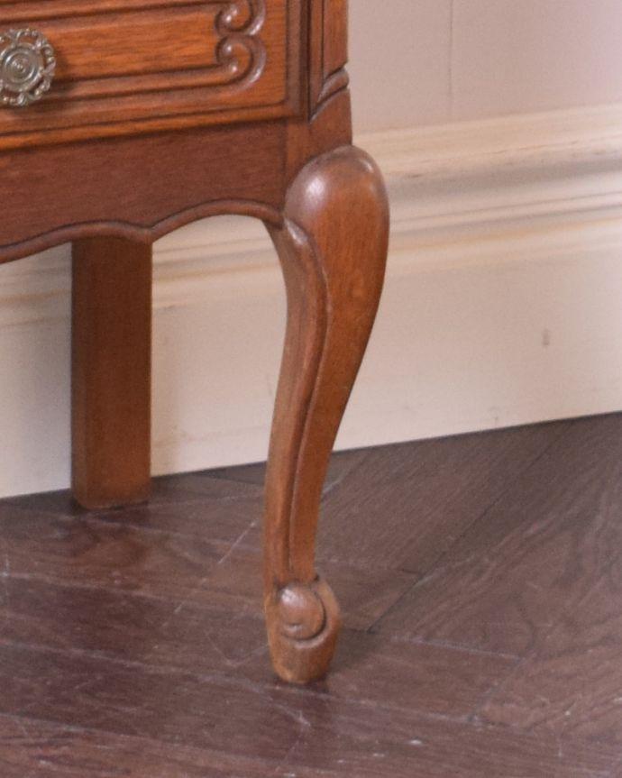 j-1914-f アンティークチェストの脚