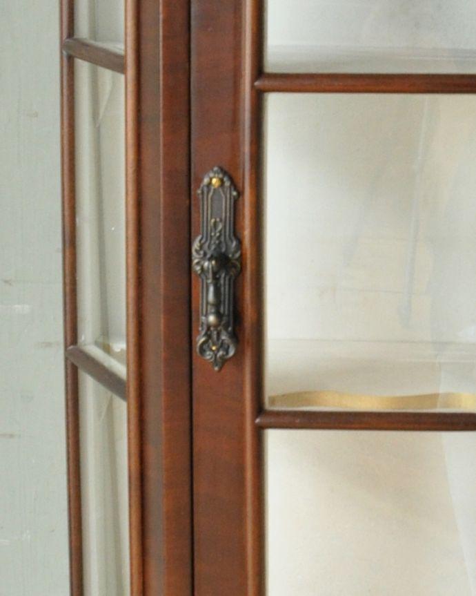 j-1950-f アンティークウォールガラスキャビネットの取っ手
