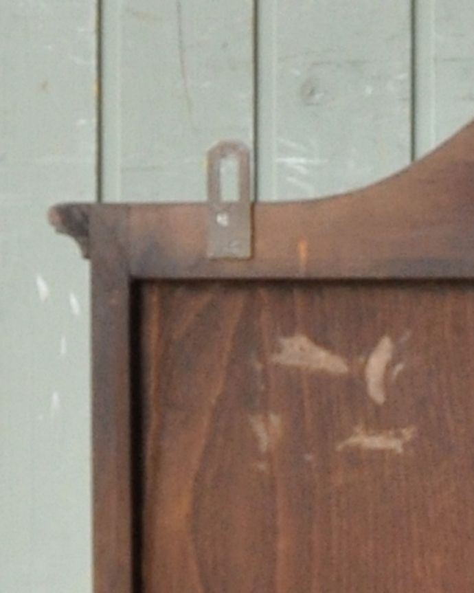 j-1950-f アンティークウォールガラスキャビネットのビス穴