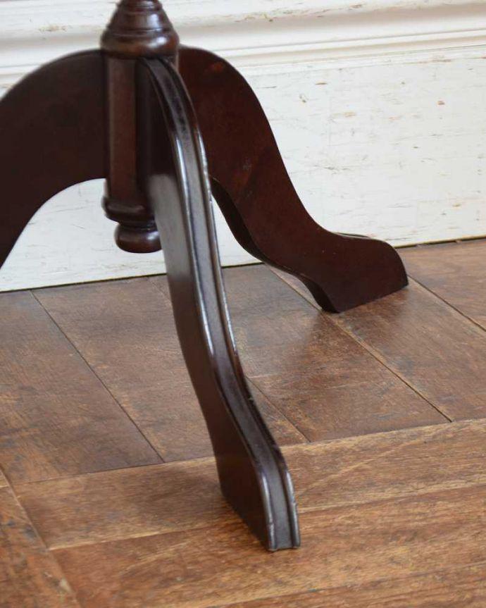 j-2277-f  アンティークワインテーブルの脚