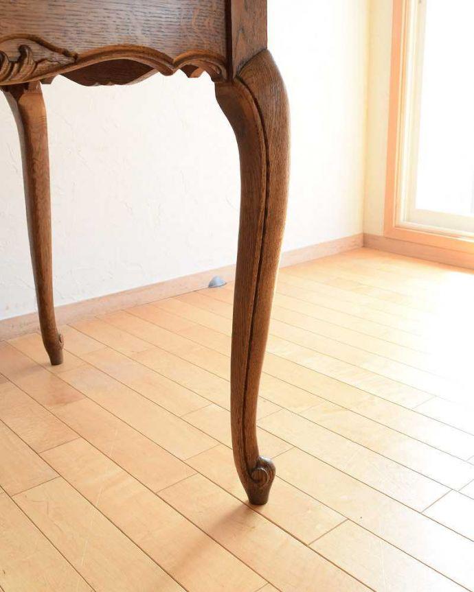 j-2298-f アンティークダイニングテーブルの脚