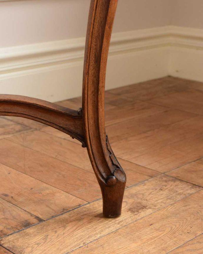 j-2331-f  アンティークオケージョナルテーブルの脚