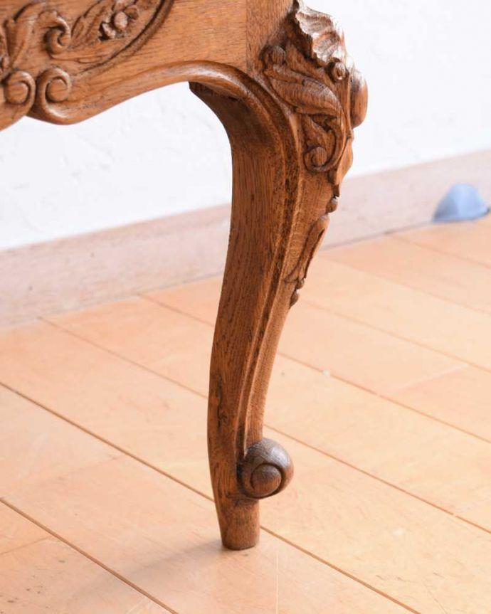 j-2351-f アンティークナイトテーブルの脚