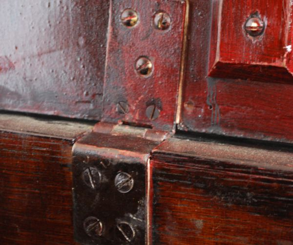 k-1066-f アンティークブランケットボックスの金具