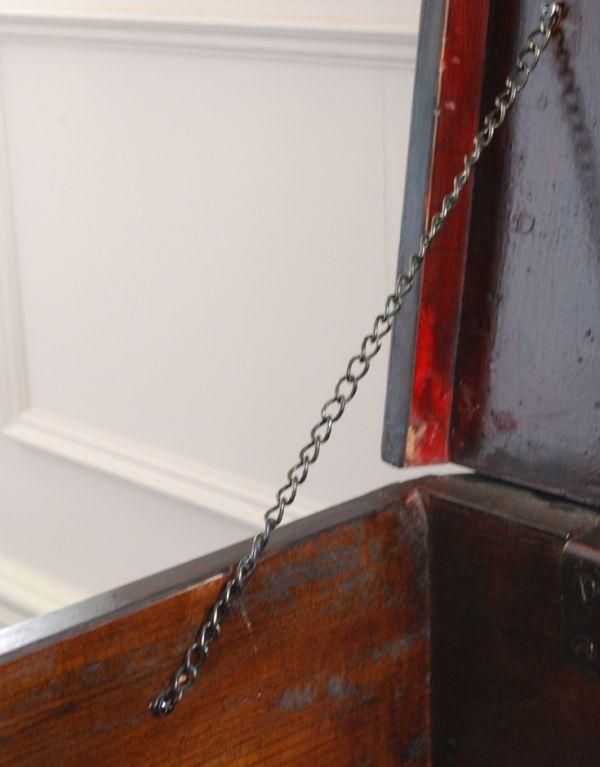 k-1066-f アンティークブランケットボックスのチェーン