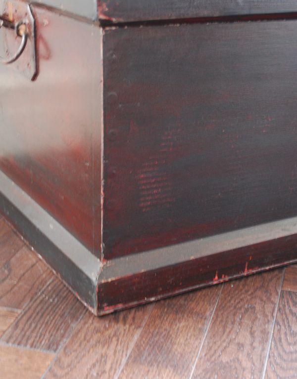 k-1066-f アンティークブランケットボックスの土台