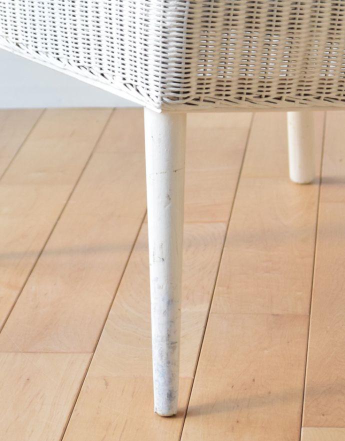 k-1134-c アンティークロイドルームチェア(ホワイト)の脚
