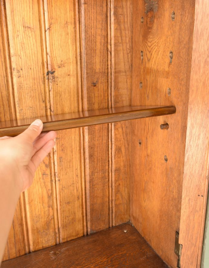 k-1190-f アンティークブックビューローの棚板