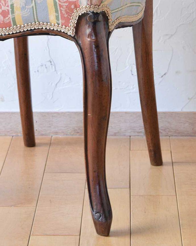 k-1212-c アンティークバルーンバックチェアの脚