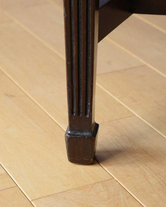 k-1227-c アンティークサロンチェアの脚