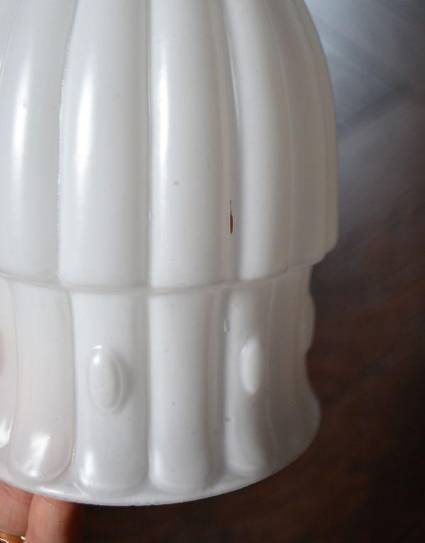 k-1277-z アンティークガラスシェードの汚れ