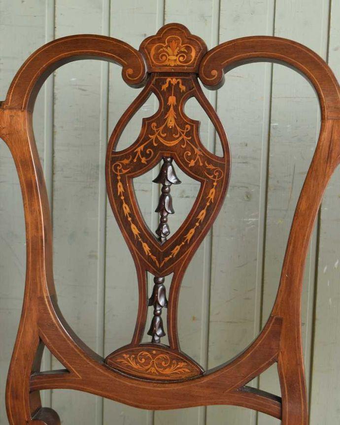 k-1294-c アンティークセティ(ソファベンチ)の装飾