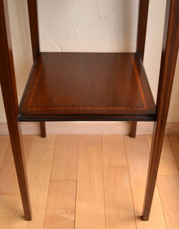 k-1297-f アンティークオケージョナルテーブルの棚