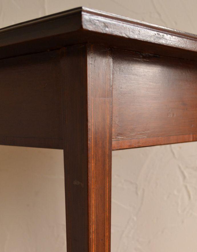 k-1297-f アンティークオケージョナルテーブルの脚の装飾