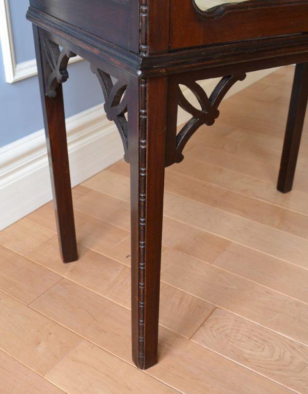 k-1305-f アンティークガラスキャビネットの脚
