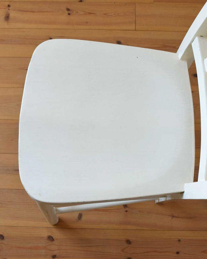 k-1311-c アンティークキッチンチェアの座面