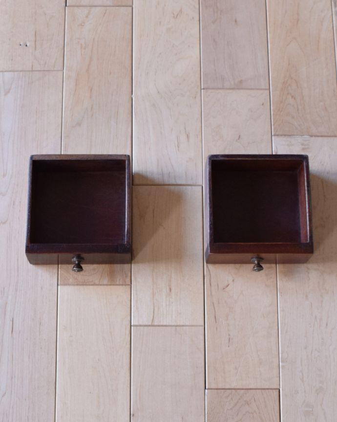 k-1315-f アンティークカップボード(食器棚)の小引き出し