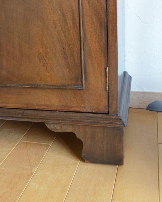 k-1315-f アンティークカップボード(食器棚)の脚