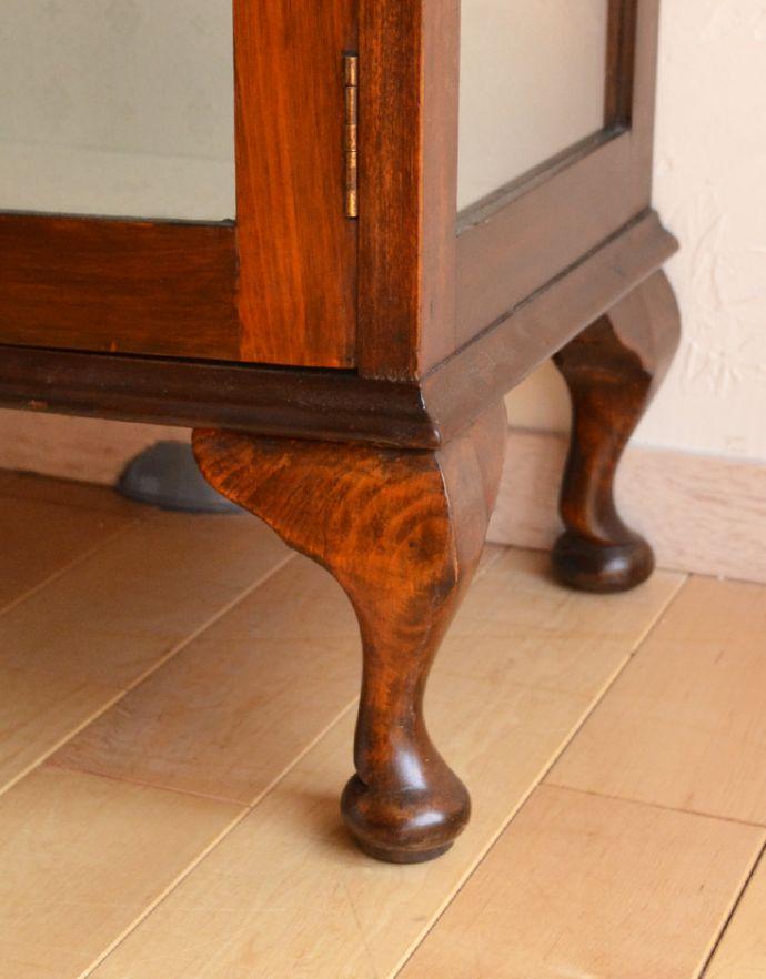 k-1351-f アンティークガラスキャビネットの脚