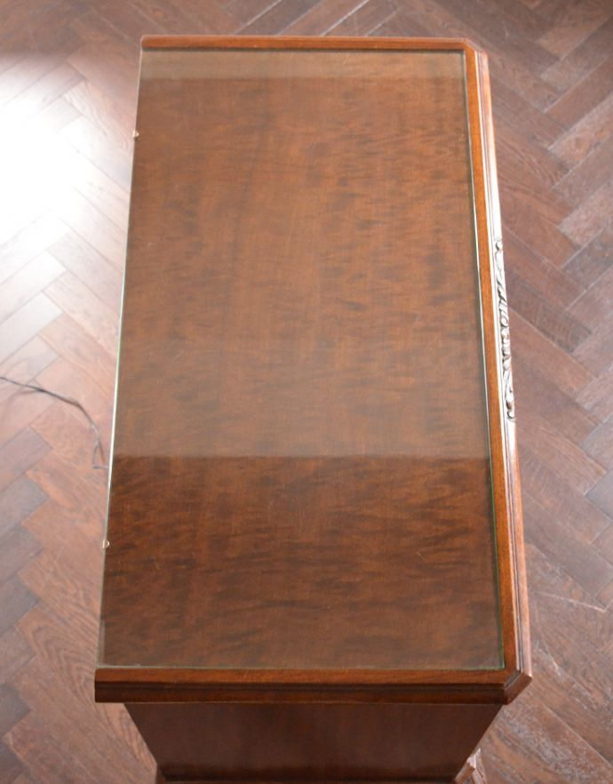 k-1354-f アンティークキャビネットの天板