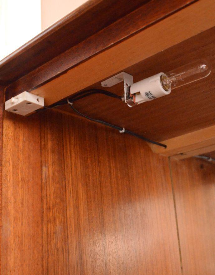 k-1354-f アンティークキャビネットの照明