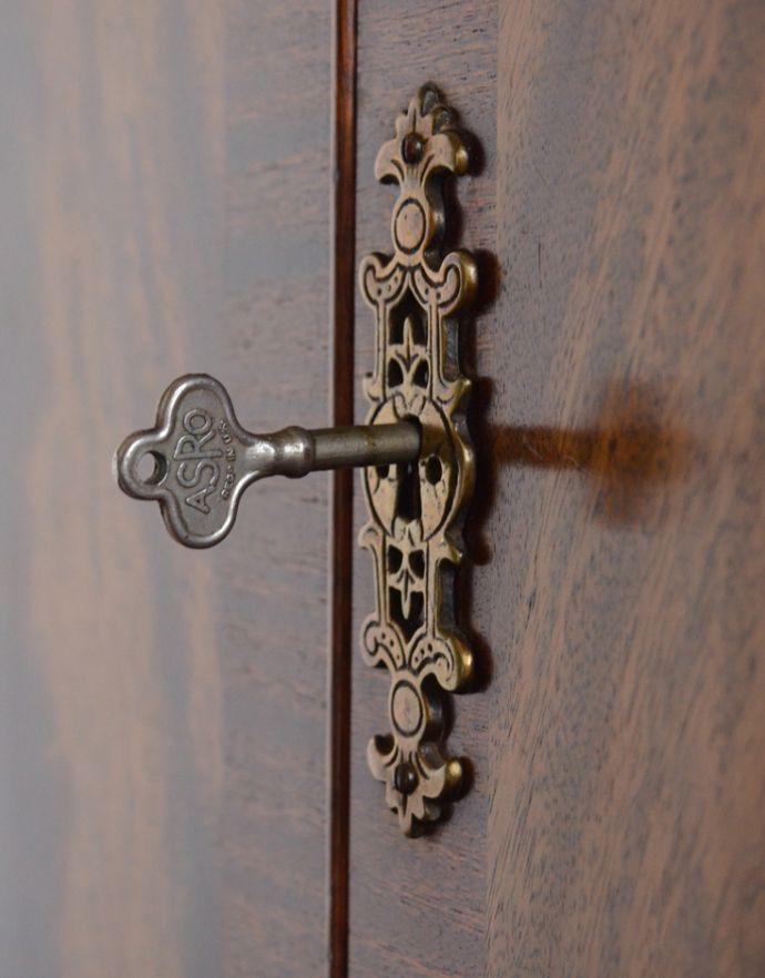 k-1354-f アンティークキャビネットの鍵