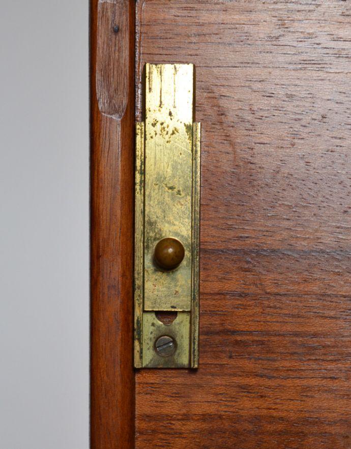 k-1354-ff アンティークキャビネットの扉固定金具