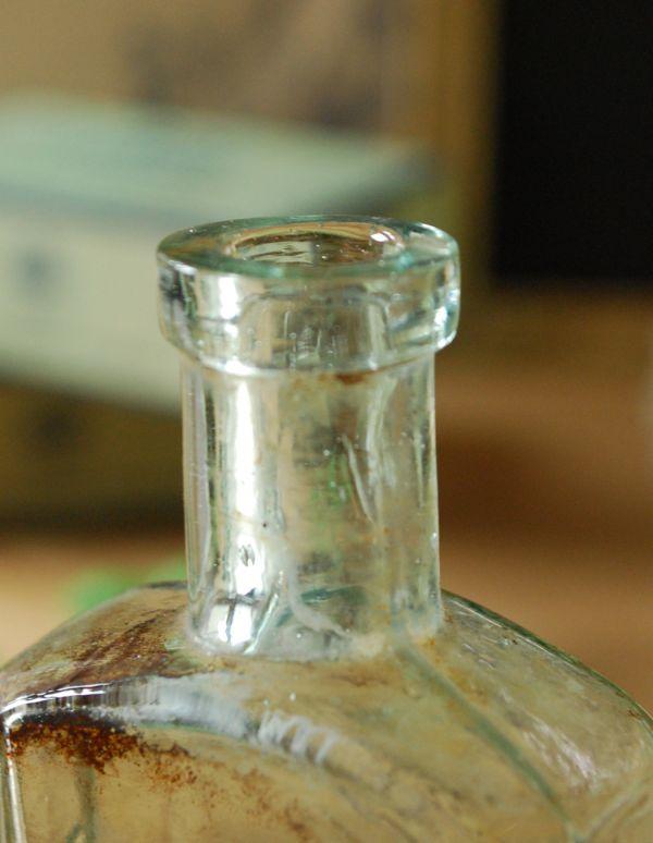 k-1365-z アンティークガラスボトル1