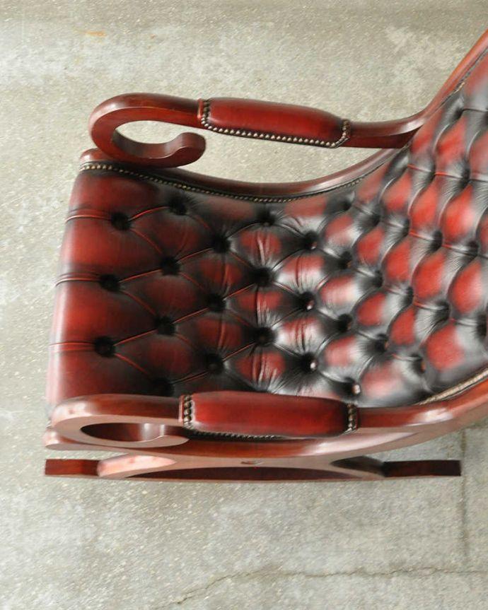 k-1379-c アンティークラウンジチェアの座面