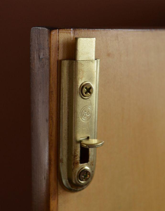 k-1395-f  アンティークキャビネットの扉固定金具