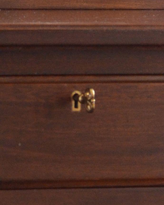 k-1458-f アンティークドレッシングテーブルの鍵
