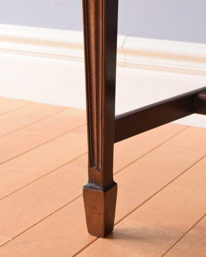 k-1461-c アンティーククイーンアンアームチェアの脚