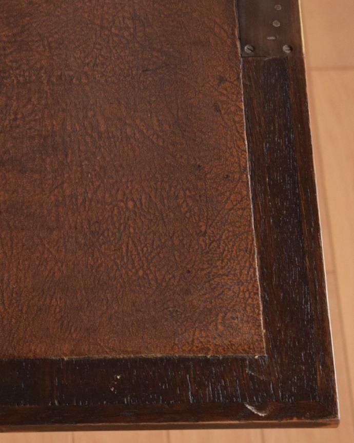 k-1462-f アンティークサイドバイサイド(本棚とビューロー)の角