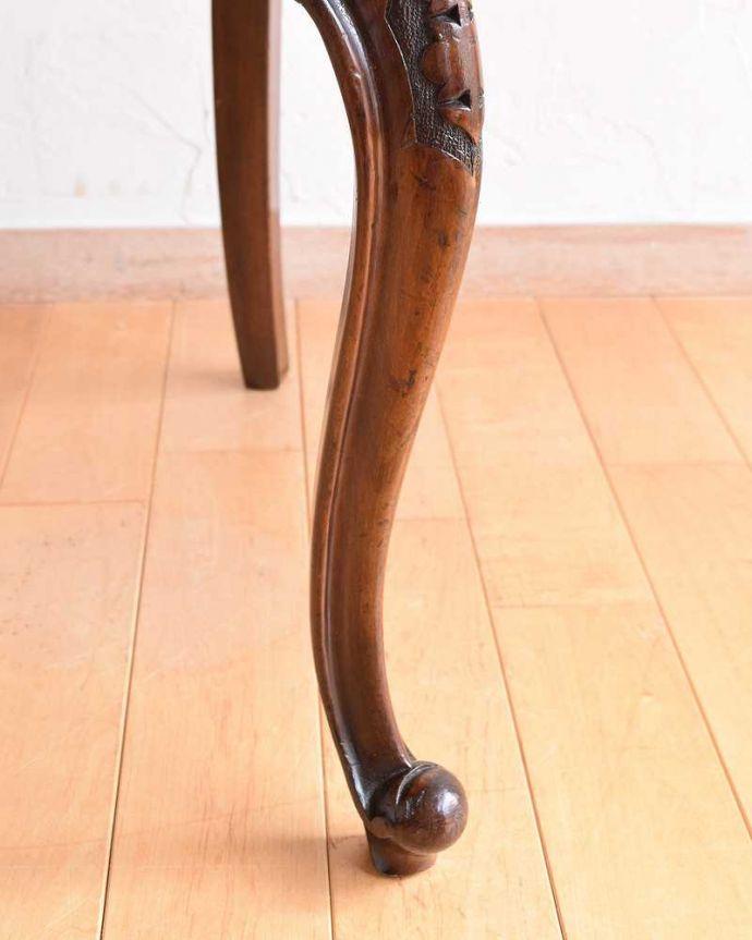 k-1464-c アンティークバルーンバックチェアの脚