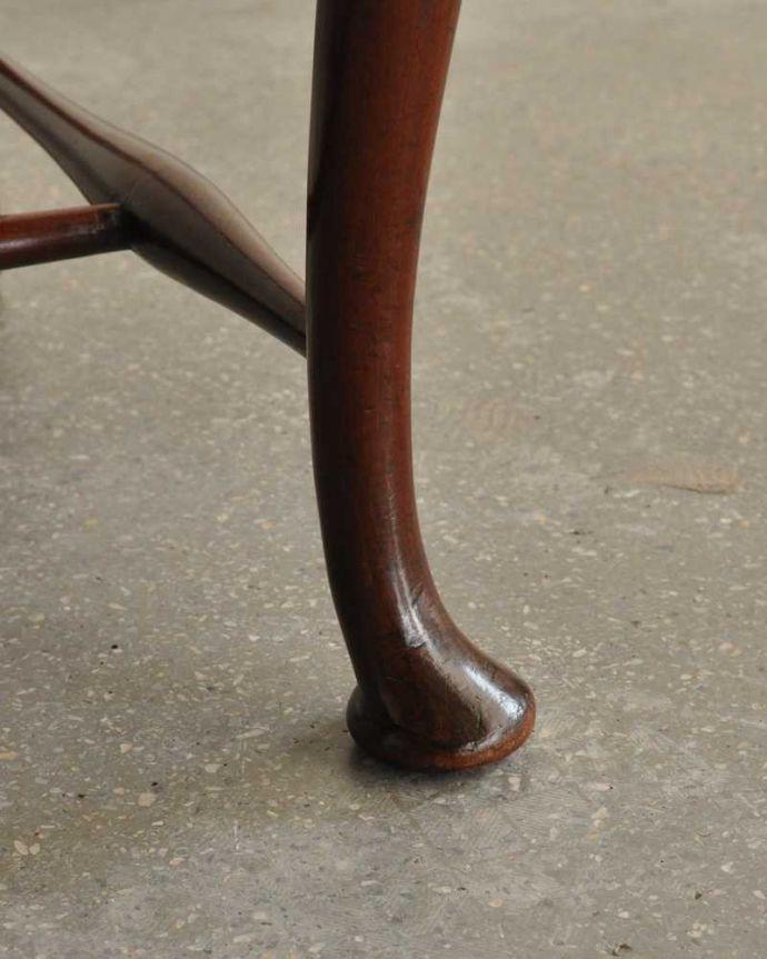 k-1478-c アンティーククイーンアンチェアの脚