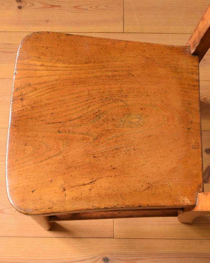 k-1489-c アンティークキッチンチェアの座面
