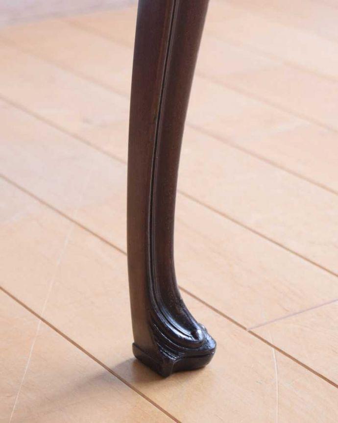 k-1521-c アンティークサロンチェアの脚